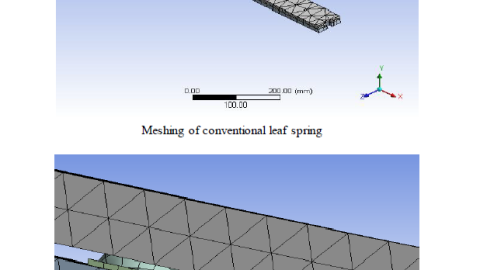 DESIGN MODIFICATION AND ANALYSIS OF SEMIELLIPTICAL LEAF SPRING WITH BALLS