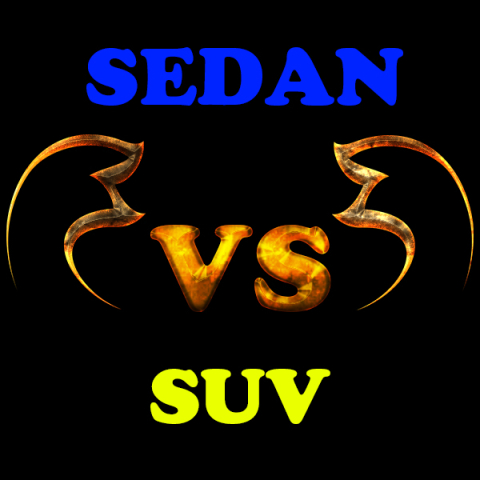 Difference between Sedan and Sports Utility Vehicle (SUV)