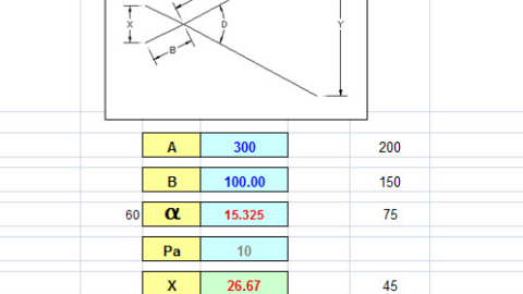 Solve Engineering problems using Excel