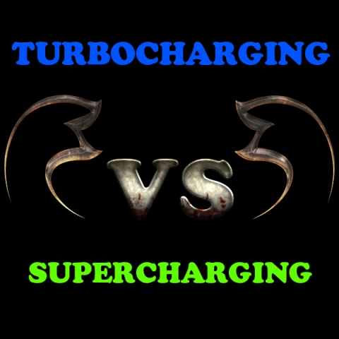 Difference between turbocharging and supercharging